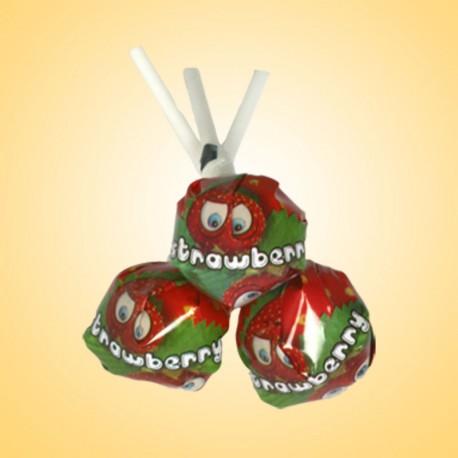 Jahoda - sladké lízátko